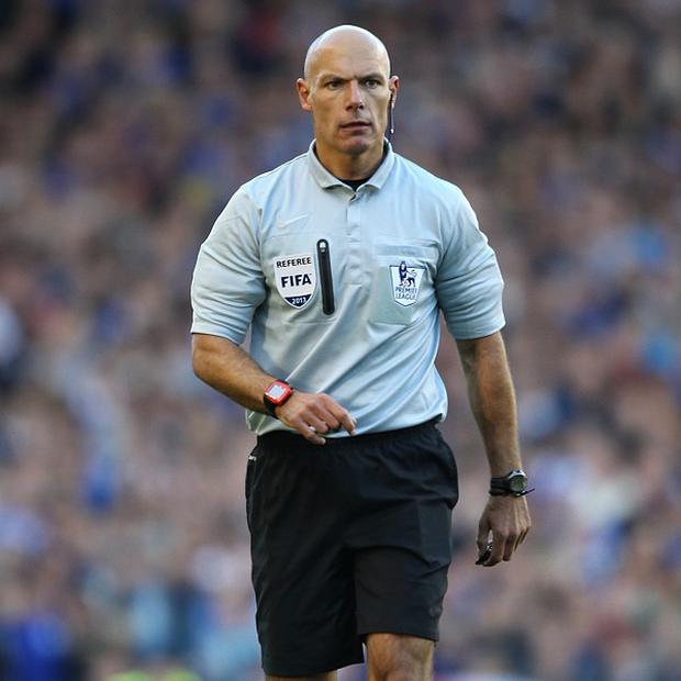 Howard Webb will take charge at the Etihad Stadium on Sunday