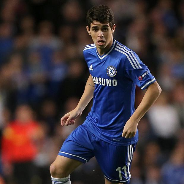 Jose Mourinho has picked out Oscar as Chelsea's best player so far this season