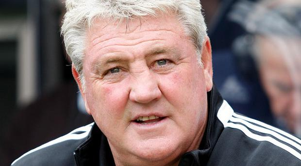 Hull manager Steve Bruce left Newcastle in a good mood