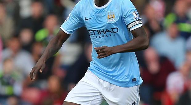 Yaya Toure has netted five goals in seven games