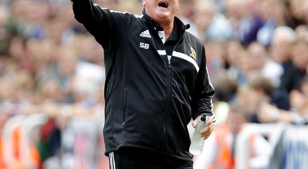 Steve Bruce insists that staying in the Premier League is Hull's priority