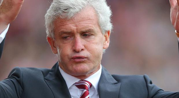 Mark Hughes wants more goals from Stoke