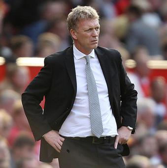 David Moyes saw Manchester United slip to their second successive Premier League defeat