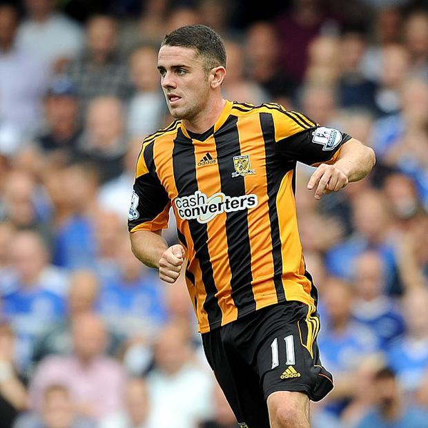 Robbie Brady will miss Hull's Premier League clash against Aston Villa on Saturday