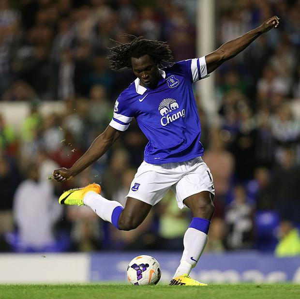 Romelu Lukaku took his tally to three goals in just 135 minutes of league football after scoring twice against Newcastle