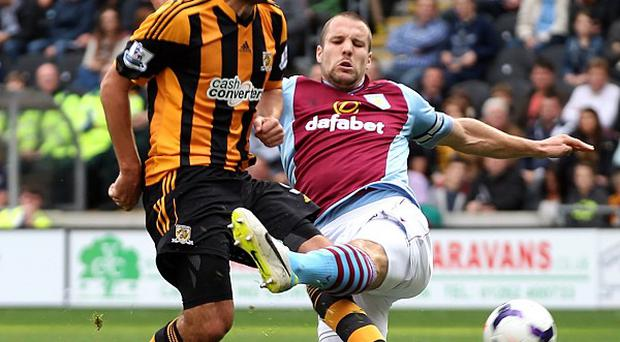 Hull and Villa played out a goalless draw at the KC Stadium