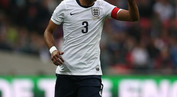 Ashley Cole has a rib complaint and is a doubt for England's crucial qualifiers on Friday and next Tuesday