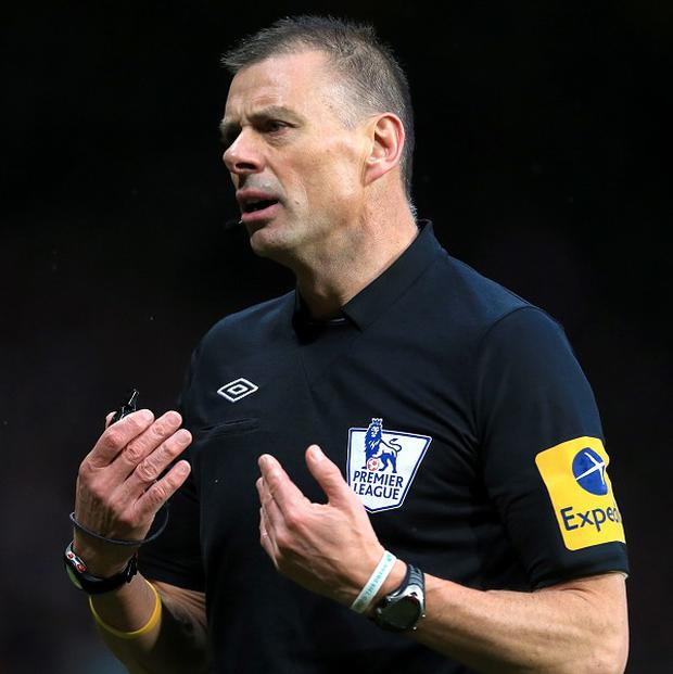 Mark Halsey retired from refereeing at the end of last season