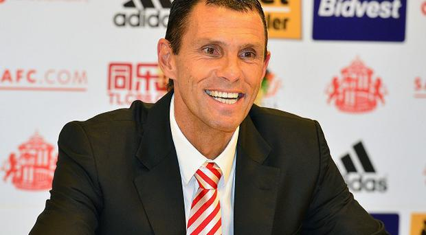 Gus Poyet held his first press conference at Sunderladn today