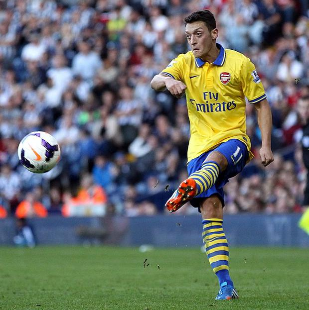Mesut Ozil is enjoying life in London following his switch to Arsenal