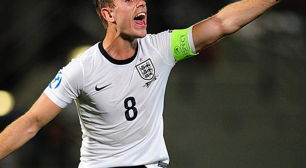 Jordan Henderson is targetting a World Cup spot