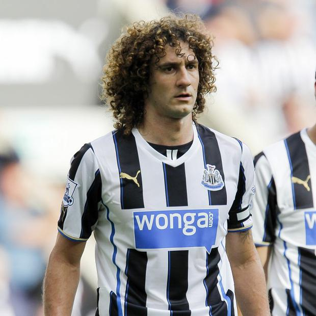 Fabricio Coloccini has a groin problem