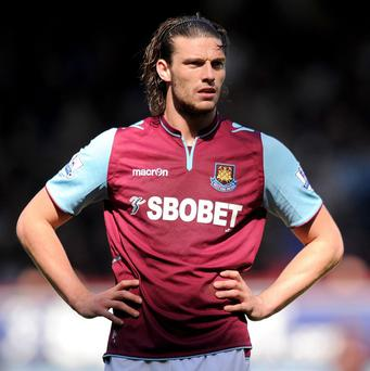 Andy Carroll has been struggling with a heel problem