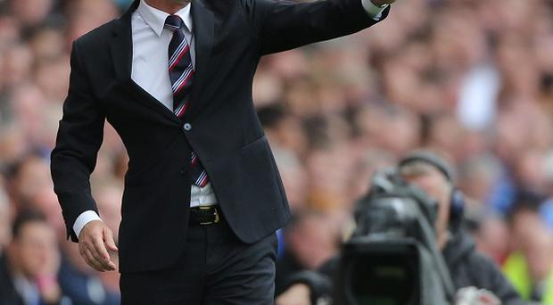 Newcastle manager Alan Pardew wants a positive result against Liverpool