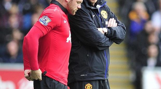 Wayne Rooney, left, has been in scintillating form for club and country of late