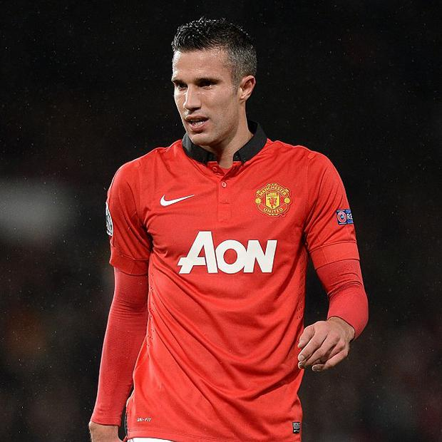 Robin van persie picked up a calf injury on international duty with Holland