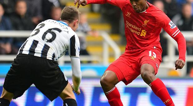 Daniel Sturridge, right, scored Liverpool's equaliser