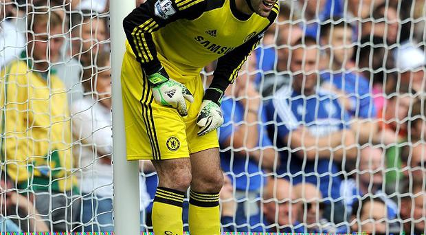 Petr Cech thought Chelsea's controversial goal should have been awarded