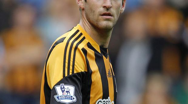Danny Graham suffered severe bruising to his knee during Saturday's game with Everton