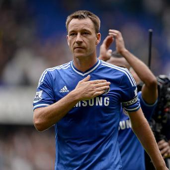 John Terry is targeting victory over Schalke