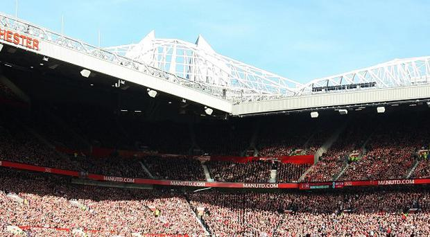 Manchester United are testing out a singing section on Wednesday