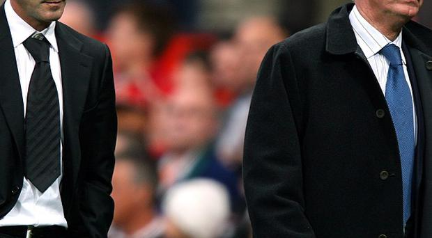 Sir Alex Ferguson, right, has spoken about his differences with Roy Keane, left, in his book