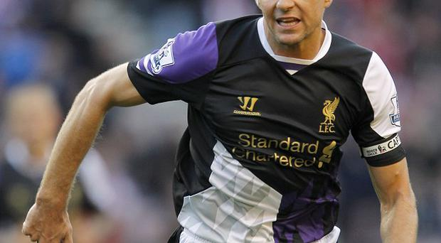 Brendan Rodgers has defended Steven Gerrard, pictured