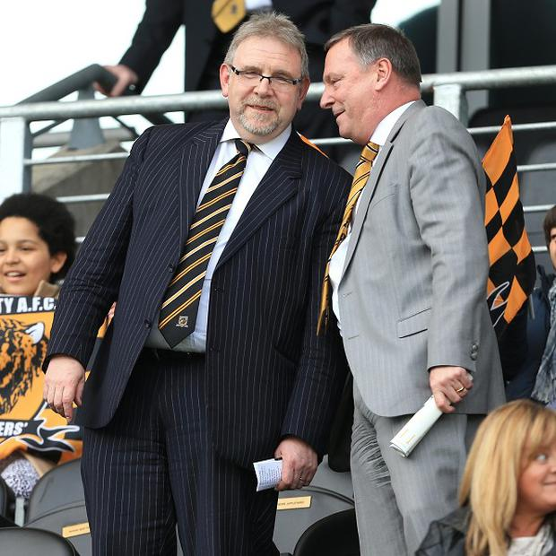 Nick Thompson, left, will leave Hull at the end of the year