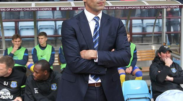 Roberto Martinez's Everton have accrued 15 points from the last 18 available