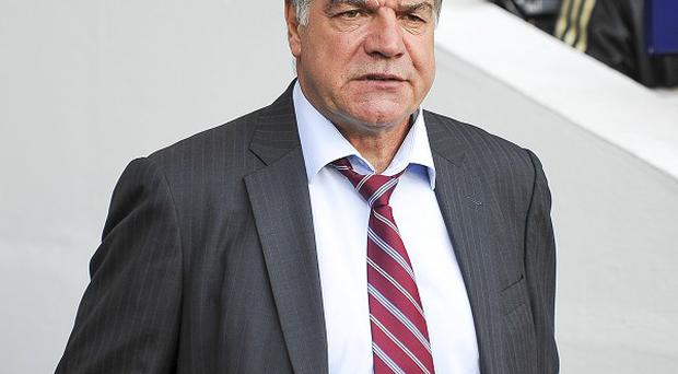 Sam Allardyce again played without a recognised striker