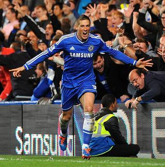 Fernando Torres, pictured, received plenty of praise from Jose Mourinho following his last-minute winner