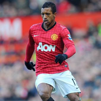 Nani was booed by Manchester United fans on Saturday