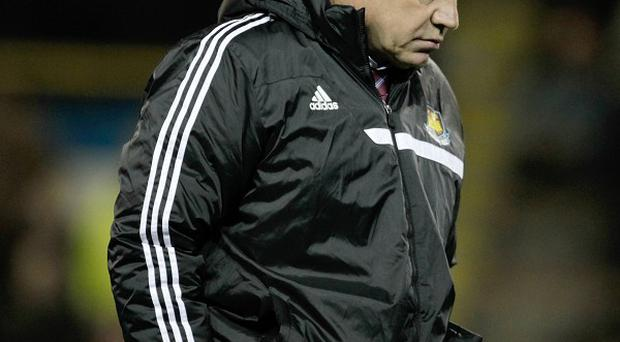 Sam Allardyce's West Ham squad is thin in numbers at present due to several injuries
