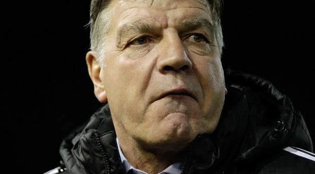 Sam Allardyce has hit out at managers