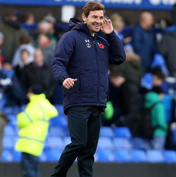 Andre Villas-Boas has no concerns over his side's poor form in front of goal