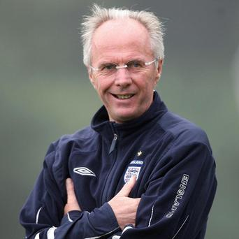 Sven-Goran Eriksson led England from 2001 to 2006