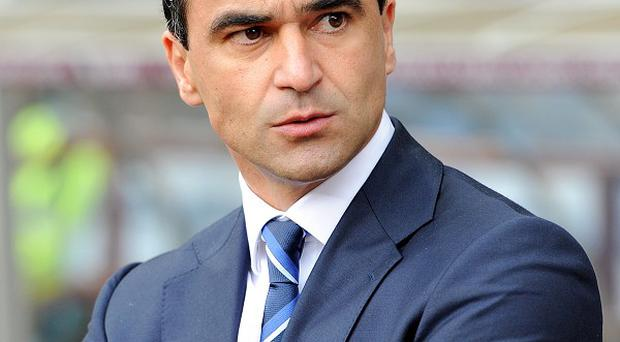 Roberto Martinez says Everton 'have many more options up front'