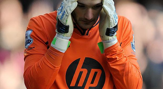 Hugo Lloris missed the defeat to Newcastle