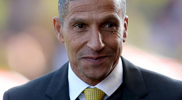 Chris Hughton is relieved his side are out of the bottom three
