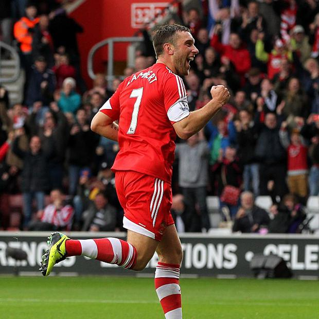 Rickie Lambert is loving life at Southampton