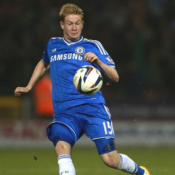Kevin de Bruyne has struggled for opportunities at Stamford Bridge