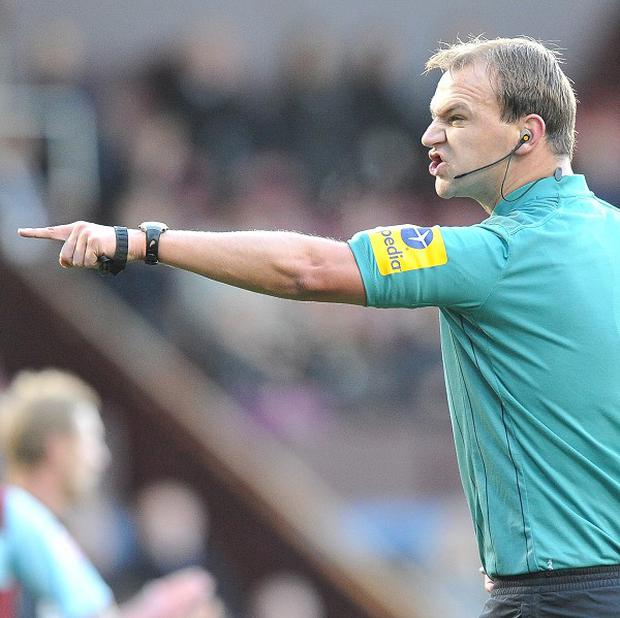 Referee Robert Madley was criticised for awarding a late penalty to Stoke in their game at Swansea