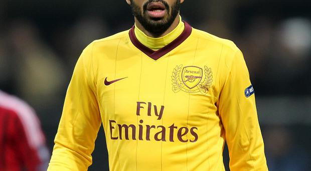 Thierry Henry is maintaining his fitness with Arsenal