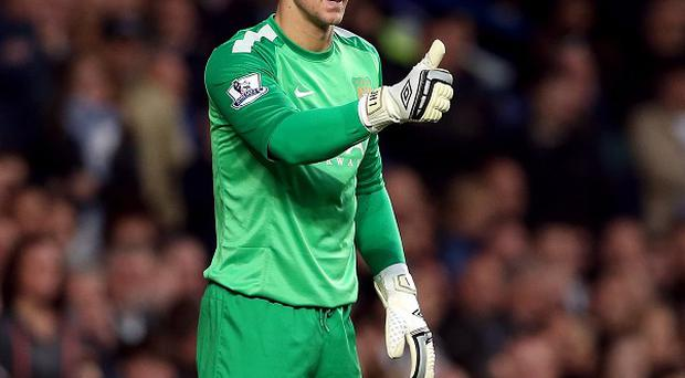 Joe Hart must wait to find out if he will play this weekend