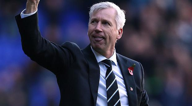 Alan Pardew's Newcastle have won three league games in a row