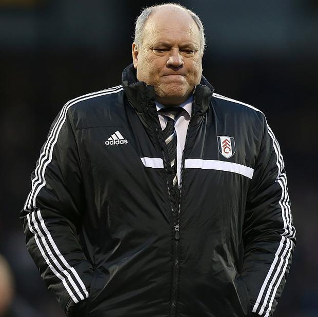 Martin Jol had a difficult afternoon