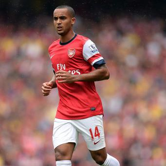 Arsenal winger Theo Walcott returned from injury with an appearance from the bench against Southampton