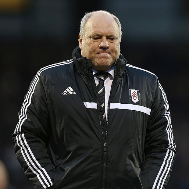 Martin Jol's Fulham lost their fifth match in succession on Saturday