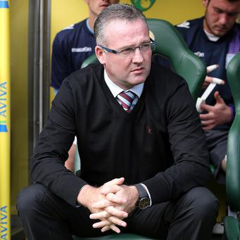 Paul Lambert's Villa take on West Brom in Monday night's game