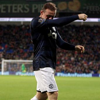 Wayne Rooney vented his frustrations on Twitter